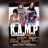 K.A.M.P SAT MAY 21,2016(ZJ KILLA FEELINGZ OUTTA AFRIKAN VYBZ GT BEST,STERO SONIC,BLACK KING,PLATINUM