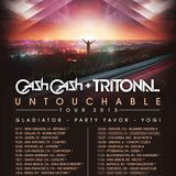 Tritonal & Cash Cash Presents Untouchable Tour Live @ Terminal 5 NYC  07/11/2015