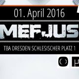 FORV3RT Live @ TBA Dresden - 10 Years of Danger Movement w/ Mefjus