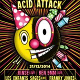 Metamorph vs. Franky Jones @ Acid Attack vs. Acid Addiction NYE edition