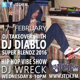 DJ Wreck - Hip Hop Vibe Show 25 - DJ Diablo