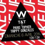 T&T (Paris'Topher vs Trippy Gonzales) Live @ Wake Up (Paris) 06-04-2014