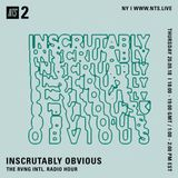 Inscrutably Obvious w/ RVNG Intl. - 20th September 2018