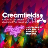 PRO-MOE - Electric Days @ Creamfields (The pre-set)