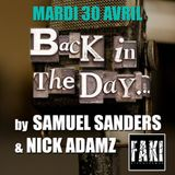 "Nick Adamz & Samuel Sanders (part 1) at ""Back In The Days"" @ Faki (Arras - France) - 30 April 2019"