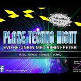 DJ Vision FM RIP - Plaze Techno Night / Extravadance Reunion 25.11.2016