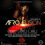 Afrofusion Fridays At Society Chicago Promo Mix