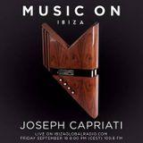 Joseph Capriati @ Music On Radio Show, Ibiza Global Radio2015-09-18 -