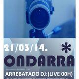 live in ondarra club marzo 20014 GRACIAS A ENRIQUE Y JUNIOR  POR TRATARME TAN BIEN.