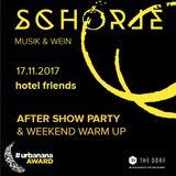 SCHORLE Weekend warm-up hotel friends Düsseldorf 17.11.2018 mix Part One
