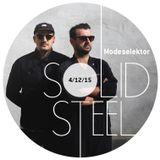 Solid Steel Radio Show 4/12/2015 Hour 1 - Modeselektor