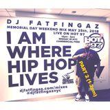 DJ FATFINGAZ 12PM-2PM LIVE ON HOT97 MEMORIAL DAY MIX WEEKEND 2018 PART 2