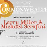 Commonwealth 24 August featuring Michael Serafini