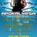 Kevin Saunderson - Live @ Apokalypsa 29 , Czech Republic (20-06-2008)