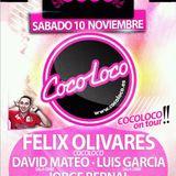 Sesion Luis Garcia COCO LOCO on tour en sala OBBE