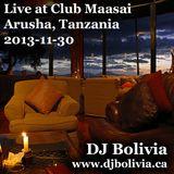 DJ Bolivia - Live at Club Maasai (Arusha)