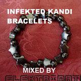 Infekted Kandi Bracelets mixed by Elektrinate