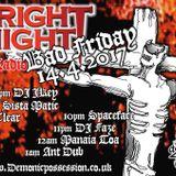 Frightnight Radio - Bad Friday! Darkside Hardcore Jungle - Dave Faze
