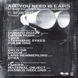 Fjäder (Live PA) @ All You Need Is Ears-Fullpanda 10 Anniversary - Tresor Berlin - 07.08.2015