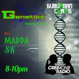 FIRST OFFICIAL GENETIKZ COLAB SET WITH MC'S MADDA AND SK LIVE ON CRE8DNB