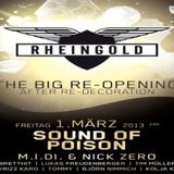 M.I.D.I. & Nick Zero @Rheingold Club Düsseldorf