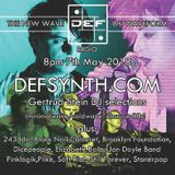 DEFSYNTH.COM's New Wave of Waveform Radio Show - 7th May 2018