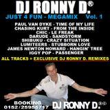 DJ RONNY D. -JUST $ FUN- MEGAMIX