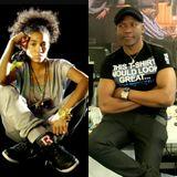 Mirror 01-05-15 Nneka nigeria soul reggae singer with Ata, African bits, greetings,fun quiz, etc..,
