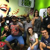 Programa Noite D+ Pop FM com a galera do Primeiro Rock Solidário de São Carlos