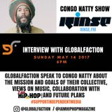 GlobalFaction interview on the Congo Natty Show