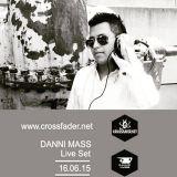 Podcast Crossfader Agency  Danny Mass en - Mono Stereo Martes 23-jun-2015