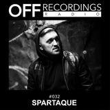 OFF Recordings Radio #32 with Spartaque