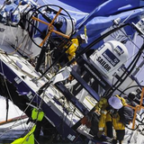 8 December 2014 Vestas Wind Shipwreck - Vestas skipper Nicholson, navigator Verbraak, and VOR staff