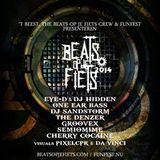 DJ set at Beats Op Je Fiets 1-3-2014