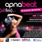 Apnabeat Radio Show - 21st  August 2018 - ALL FM