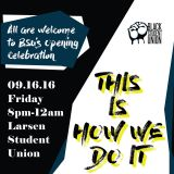BSU Celebration Promo Mix