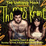 UH 10 Feb 2013 Thomas Krane in studio - with Toast & JohaN