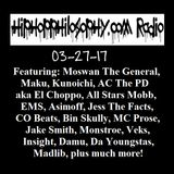 HipHopPhilosophy.com Radio - LIVE - 03-27-17