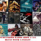 SURFINBIRD RADIO SHOW # 434 BLUES WITH A FEELIN'