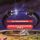 "DJ Randall & Mickey Finn at AWOL (Paradise) ""Live In London 92"" Side D"