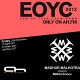 Madhur Malhotra - EOYC 2013 on Afterhours.FM