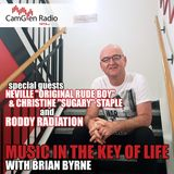 Music in the Key of Life w/Brian Byrne 14 Dec 2018, feat Neville & Sugary Staple and Roddy Radiation