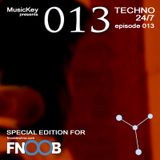 MusicKey TECHNO 24/7 013 (special for Fnoob Techno Radio)