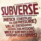 Subverse on DuskFM - Sub.mission Spesh - Wulf b2b Indica