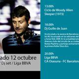Dj set dj Guille de Juan La Mesa Barcelona 12/10/13
