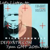 Let's listen to: Cabaret Voltaire - Micro Phonies