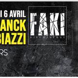 Font warm up Faki techno club guest Franck Biazzi Avril 2019