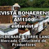 20/7/2017 REVISTA BONAERENSE - entrevista COLMENARES TORRE LANDI- Mercado Consciente de Productores