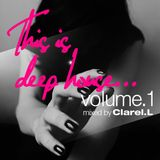 This is deep house vol.1 mixed by Clarel.L