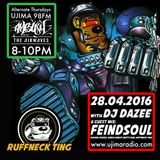 Dazee Presents The Ruffneck Ting Take Over 28.04.2016 with Feindsoul Guest Mix